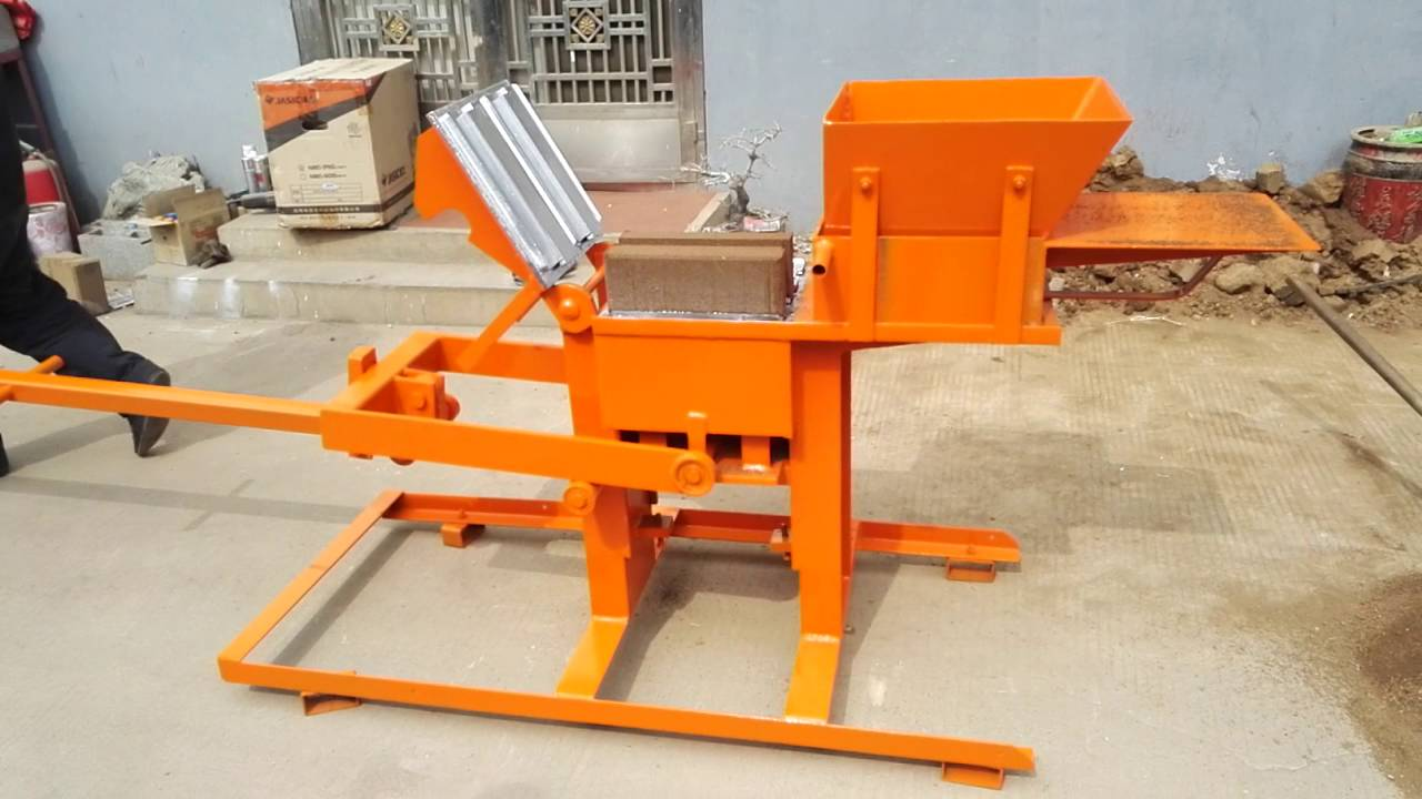 Manual eco clay brick machine 2 40 soil block making for Soil for sale