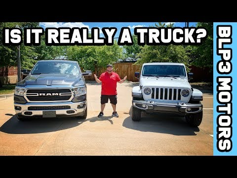 2020 JEEP GLADIATOR VS 2019 RAM 1500 - IS IT EVEN A TRUCK?