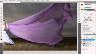 Ретушь и обработка в Photoshop  свадебной фотографии