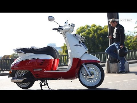 Essai scooter Peugeot Django 125