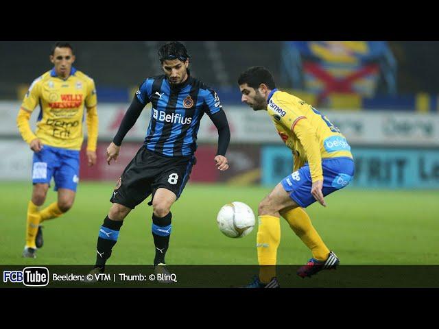 2012-2013 - Jupiler Pro League - 16. Waasland-Beveren - Club Brugge 2-6