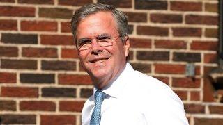 Jeb Bush talks about his fathers health
