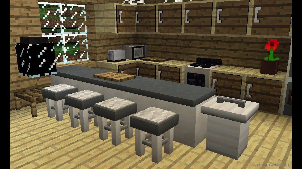 mrcrayfish s furniture mod для майнкрафт пе 0.14.0 #5