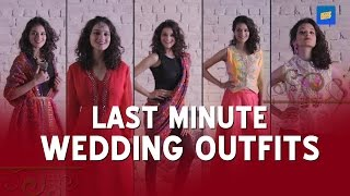 Last Minute Wedding Outfits