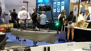 Jonny Boats Bass 100 Rigged with New YakGear Products at iCast 2019