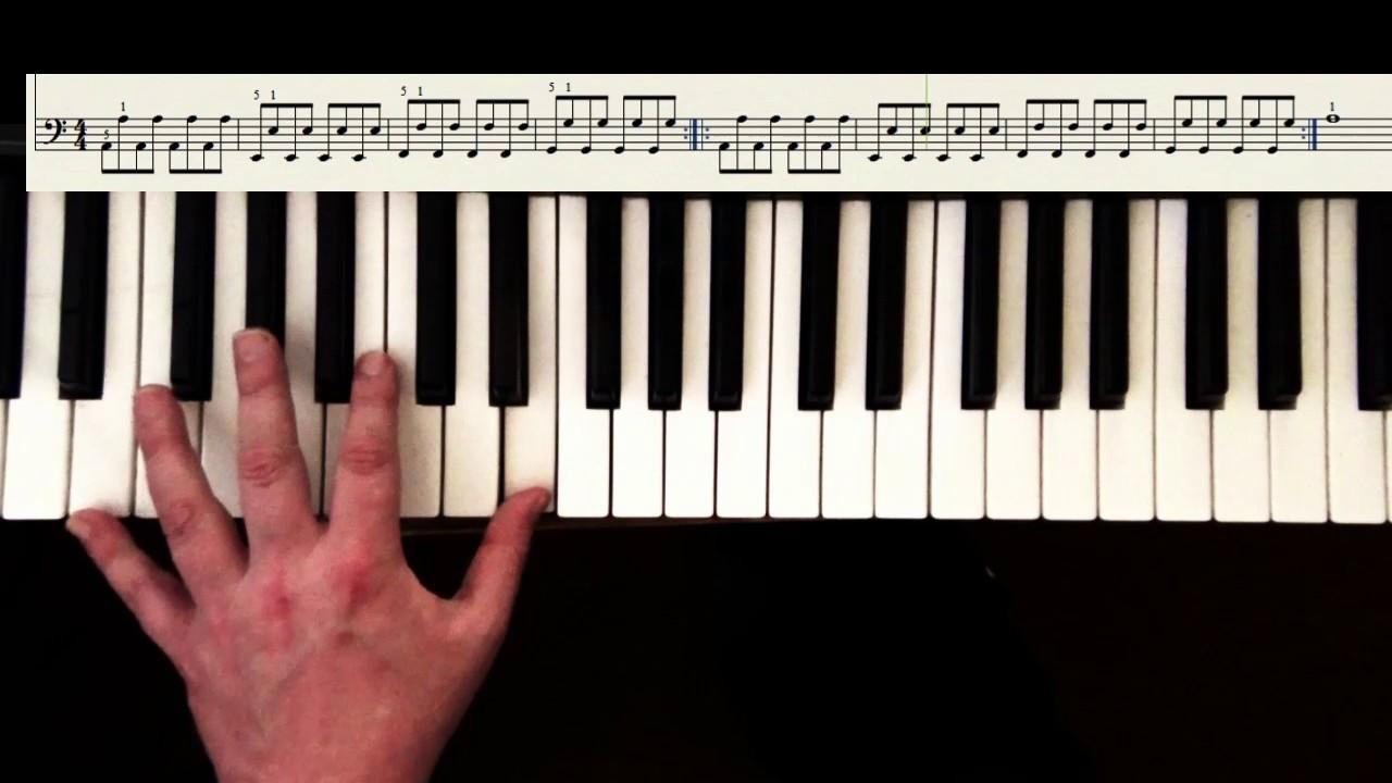 Klaviertastatur Spielen