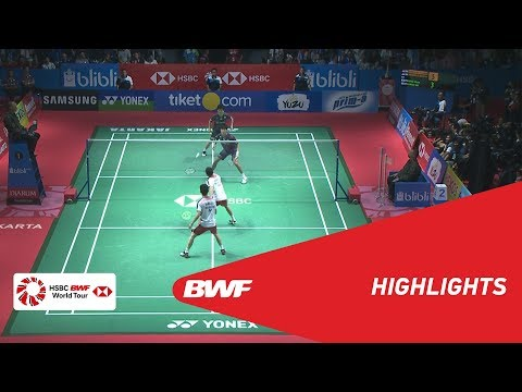 BLIBLI Indonesia Open 2018 | Badminton MD - F - Highlights | BWF 2018