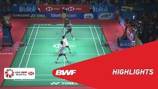 BLIBLI Indonesia Open 2018 | Badminton MD - F - Highlights | BWF 2018