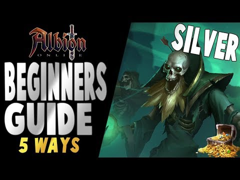 Albion Online | Beginners Guide | 5 Easy Ways ANY Character Can Make Silver
