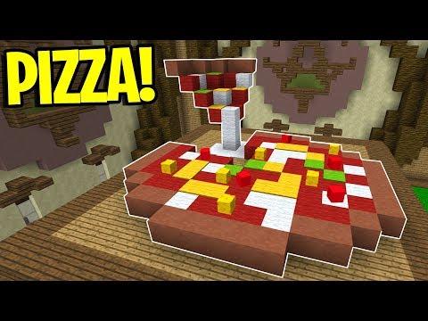 COSTRUIAMO LA PIZZA CON L'ANANAS - Build Battle Minecraft ITA