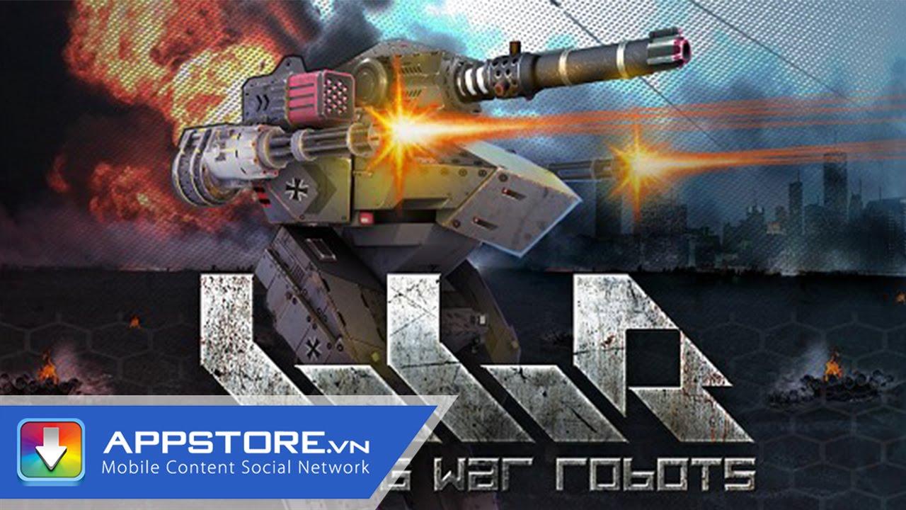 [Game IOS] Walking War Robots – Đại Chiến Robot – AppStore.Vn