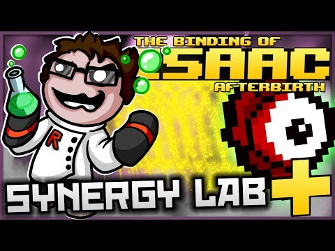 The Binding of Isaac: Afterbirth+ - Synergy Lab: ULTIMATE  STICKY FAIRY TRAIL! (BEHOLD ITS BEAUTY)