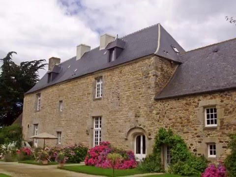 Manoir à vendre en Bretagne - manor for sale in Brittany REF BR1-189