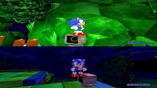 Sonic 2 Mystic Cave Remake Sonic Roblox