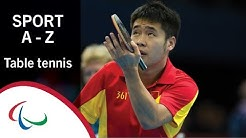 Paralympic Sports A-Z: Table Tennis