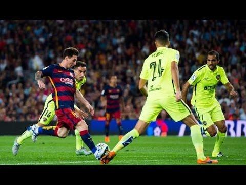 Barcelona vs Levante 4-1 | Highlights & Goals | 2015/2016 La Liga
