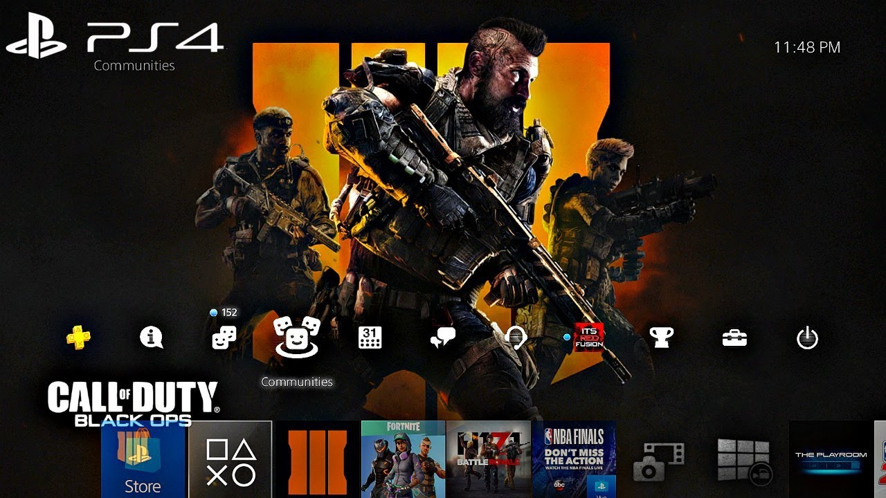 How To Download The Call Of Duty Black Ops 4 Theme For The Ps4