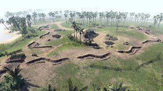 US Marines Last Stand at Guadalcanal - Final Defense | Men of War: Assault Squad 2 Gameplay
