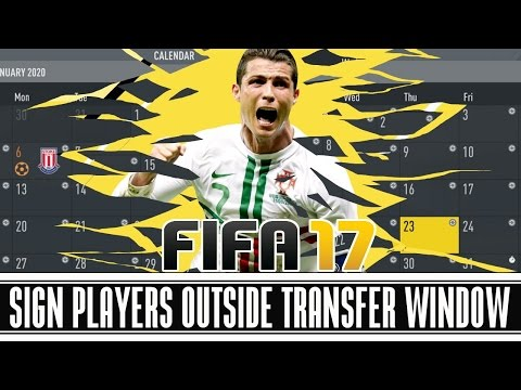 FIFA 17 CAREER MODE TIPS AND TRICKS: Sign Players Outside Transfer Window! 💵
