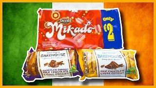 Treats from Ireland - Milk Chocolate Chunk Cookies & More, thanks Anthony & Luke