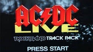 AC/DC RockBand - TNT - 14,025 Points 88% Percent- (Easy Mode)