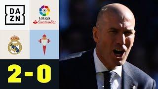 Zinedine Zidane mit erfolgreicher Rückkehr: Real Madrid - Celta Vigo 2:0 | La Liga | DAZN Highlights