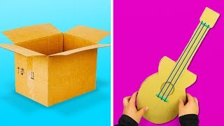 13 FUN AND SIMPLE CRAFTS YOU CAN MAKE WITH CARDBOARD