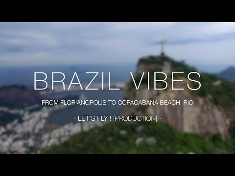 BRAZIL VIBES : from Florianopolis to Copacabana Beach, Rio ! [4K]
