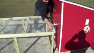 Xl Mobile Chicken Coop Video Demo By Coopsnmore.com Hen House