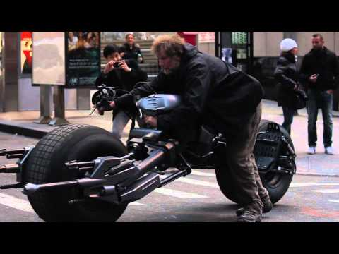 BATMAN The Dark Knight Rises EXCLUSIVE!!! NYC BEHIND THE SCENES FOOTAGE! 1080P