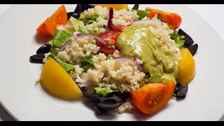 Салат Магриб с кускусом   7 нот вегетарианской кухни