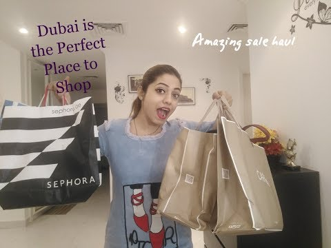 Dubai Shopping Haul || Sale 2017