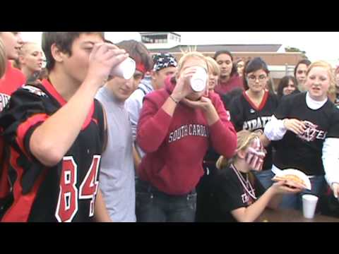 Fall River High School Homecoming 2009 Food Eating Contest