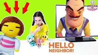 Лера знакомится с соседями. Обзор HELLONEIGHBOUR
