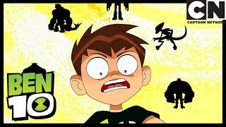 Ben 10 | Ben Gets New Aliens and a Helicopter! | Omni-Copped | Cartoon Network thumbnail