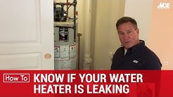 How To Know When Your Water Heater Is Leaking - Ace Hardware