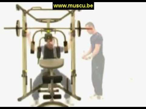 Weider Smith Machine Discount Banc De Musculation Youtube