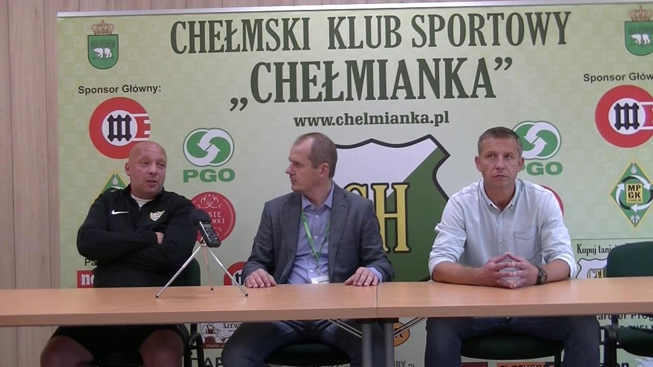 Chełmianka Chełm – Rozwój Katowice 1:0(1:0) konferencja prasowa
