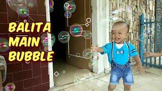 Balita Lucu Rex & Fila Main Bubble - Pistol Balon Sabun