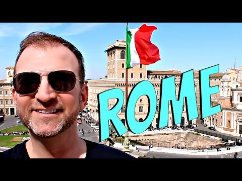 Rome Italy Travel Guide  | Easy and Fast Vacation Vlog
