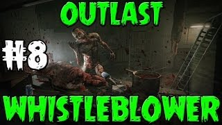 Outlast Whistleblower Walkthrough Part 8 - Jacking Off - FACECAM