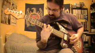 Fender Kurt Cobain Jaguar - DEMO - sounds possibilities - by Nomakills