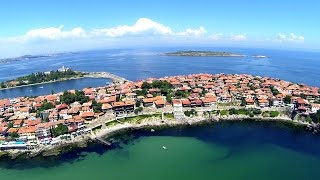 Flight over the Bulgaria 2014 - Top places, beaches, hotels & destinations, Panoramic HDvideo
