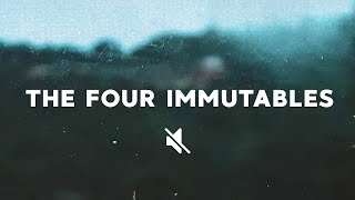 The Four Immutables 11.22.20