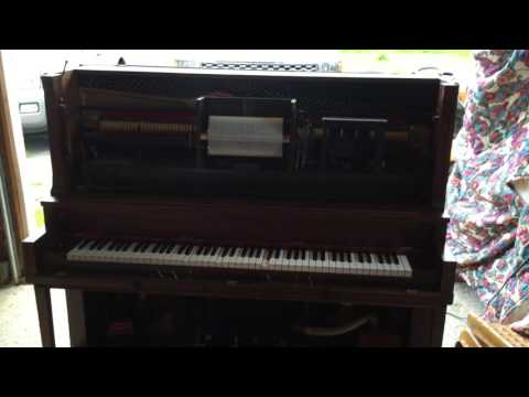 GULBRENSON PLAYER PIANO PLAYING EITHER
