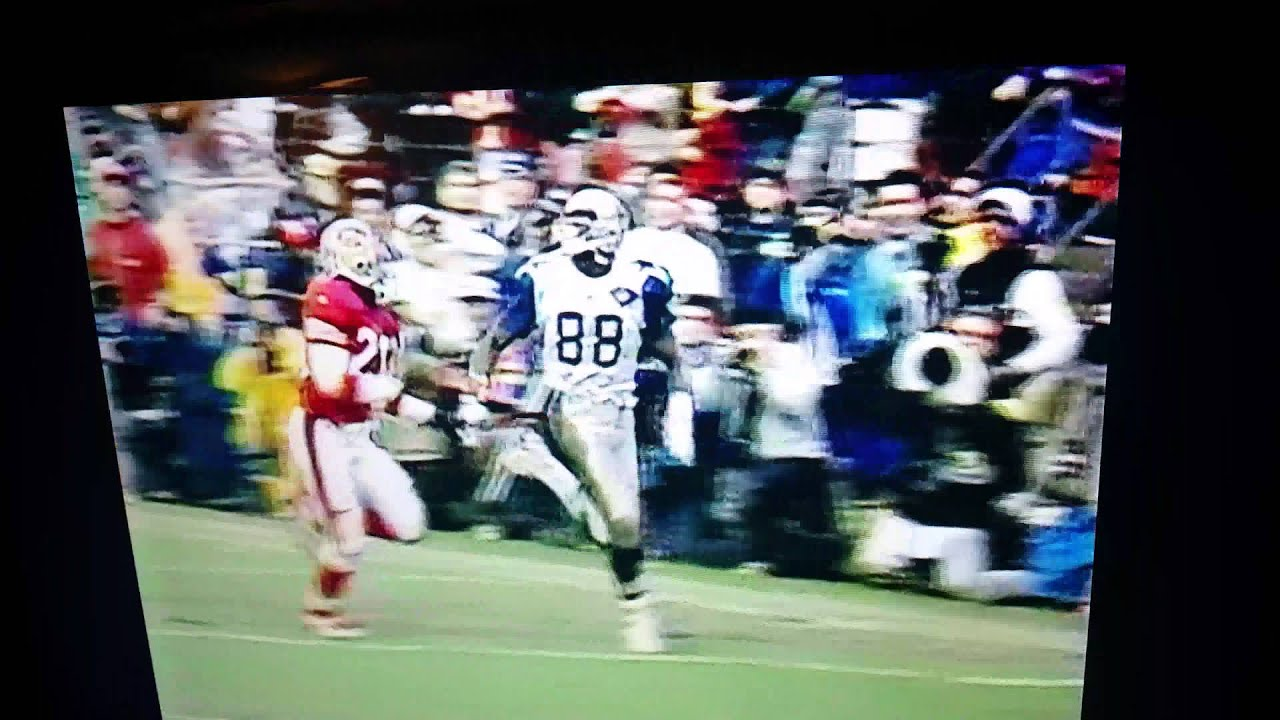 1acbc2ec5ea Deion's No-Call Interference on Irvin - YouTube