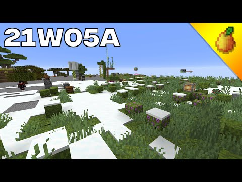 Minecraft News: 21w05a Moss! Azalea, Glowberries, Dripleaf, Copper Changes And More