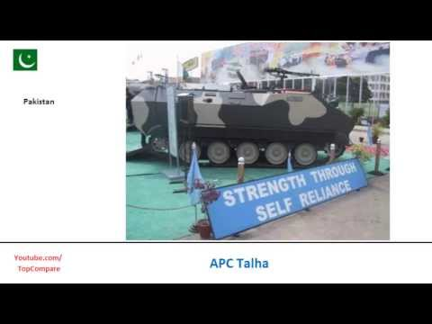 APC Talha and Abhay IFV, fighting vehicles specifications