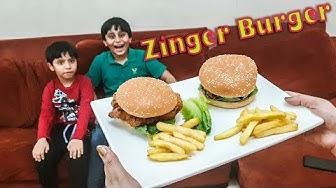 Zinger Burger - KFC Style recipe by ''Sanaris'' 2019