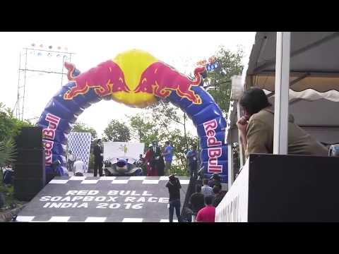 John Abraham And Other Celebs At Red Bull Soapbox Race 1